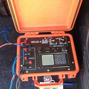 WGMD-4 Multi Electrode Resistivity Surveying System work in Turkey